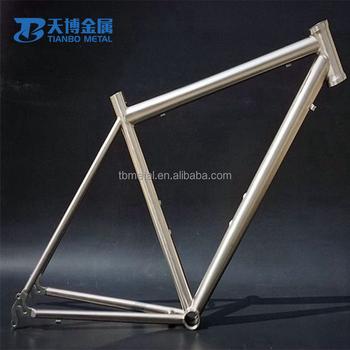 Unique Handmade OEM 700C Titanium Road Racing Bike Frame 56cm For Sale