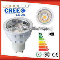 3 years CE ROHS dimmable cree spot light cob led gu10 5w