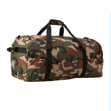 High quality Durable Polyester camo travel bag Army duffle bag