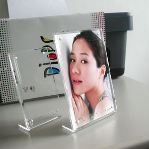 Portable Dismountable Clear Acrylic Photo Frame Acrylic Mini Picture Frame