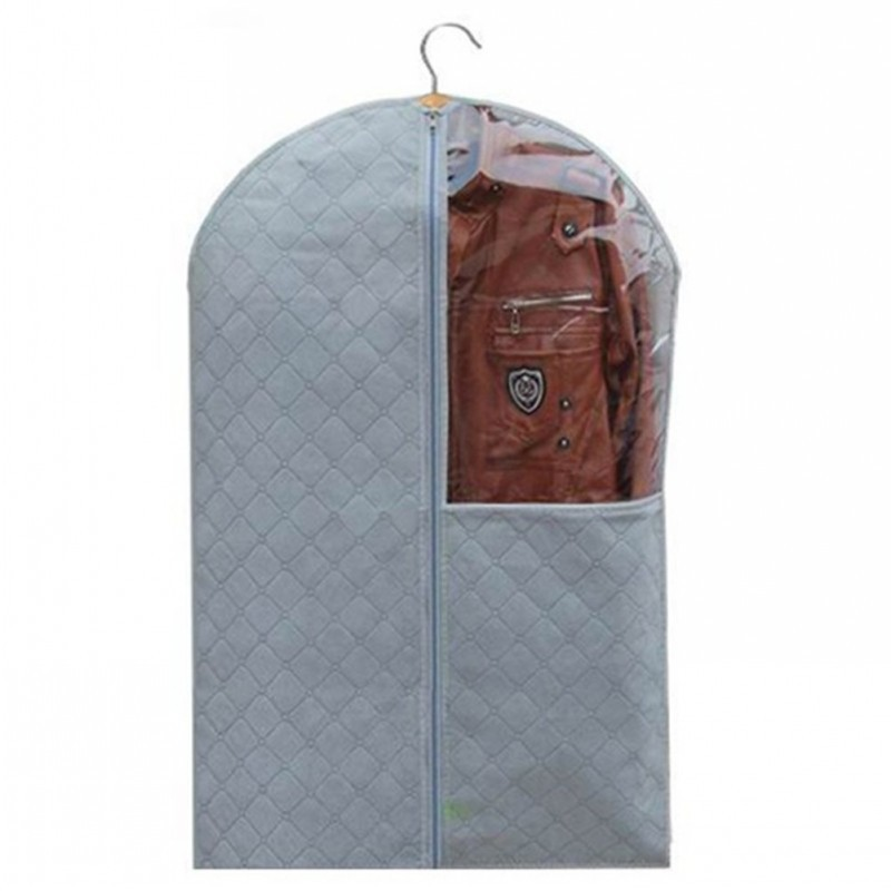 ec9d673c76 Get Quotations · 3 Size Optional Bamboo Clothes Coat Dress Garment Dress  Suit Dustproof Storage Cover Protector Bags
