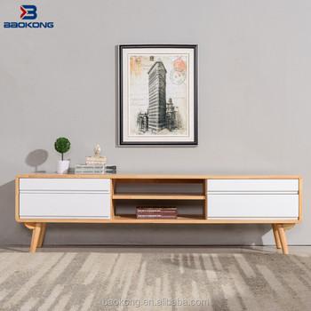 New Design Simple White Colour Tv Stand