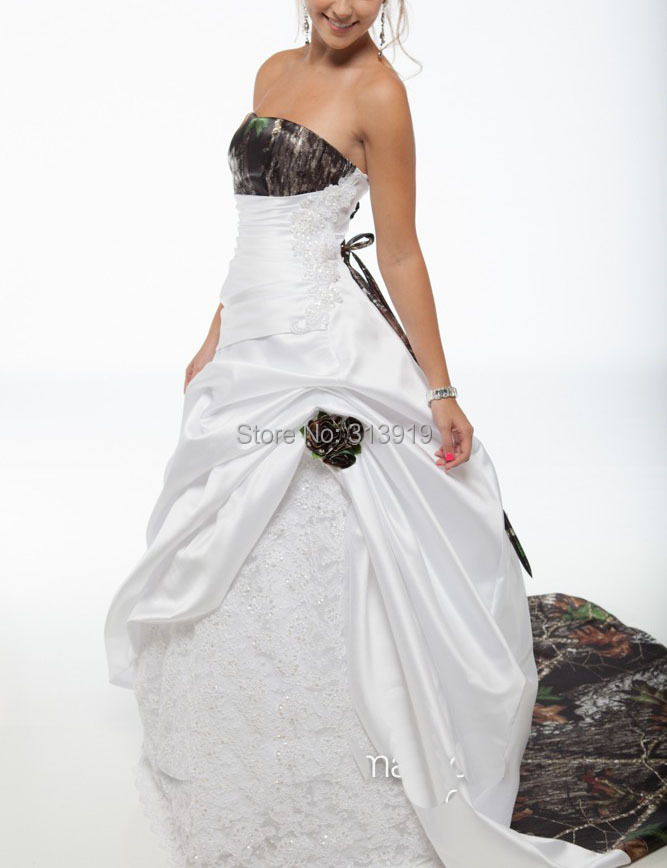 Cheap Camo Wedding Dresses For Plus Sizes, find Camo Wedding ...