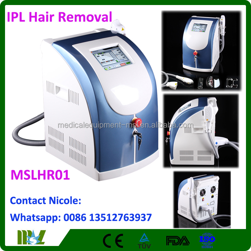 MSLHR01 Economical laser ipl machine, laser ipl hair removal machine