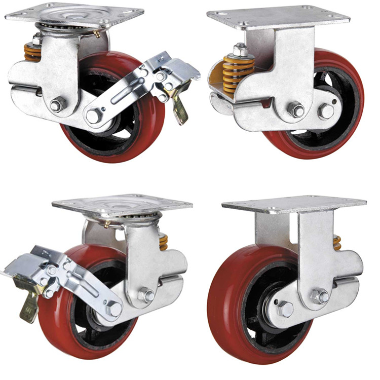 spring loaded casters products