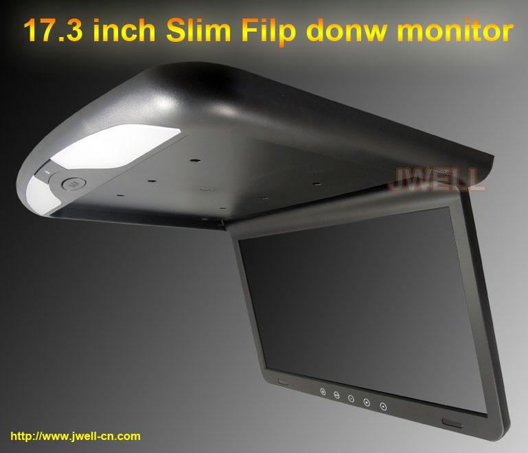 17 Inch Car Tft Lcd Roof Monitor 12v Flip Down Tv Monitor   Buy 10 Inch Car  Tft Lcd Roof Monitor 12v Flip Down Tv Monitor,High Quality Flip Down Monitor  ...
