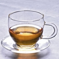 100ML heat resistant household glass tea cup