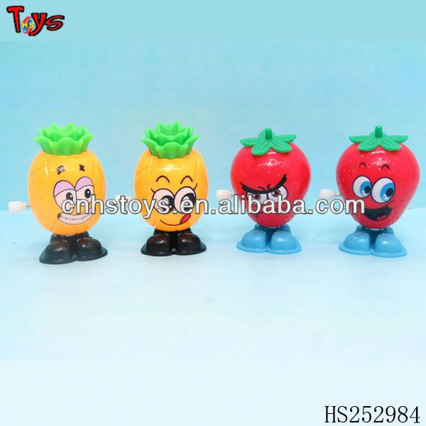small fruits mechanical toys wind up mechanism