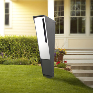 modern free standing mailboxes/outdoor metal letter box/house letterbox for sales