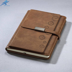A4 PU Leather high quality promotion Notebook/Business Diary