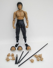 Wholesale shenzhen toy factory Bruce Lee 3d plastic toy action figure