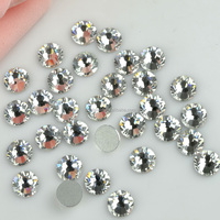 sparkly Flat Backs No Hotfix rhinestone crystals nailart embellishments