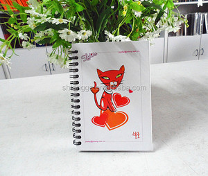 Newest Hardcover PVC Custom Cheap 3D Lenticular Notebook