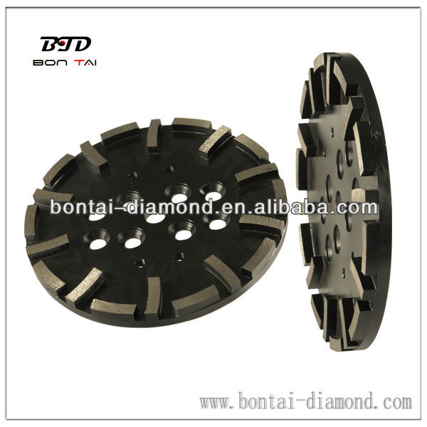 "10"" 250mm diamond tool to fit Blastrac machine that can be changed to fit other machines"