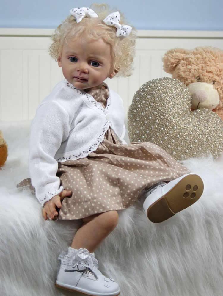 24 Inch Vinyl Reborn Doll Kits Fridolin By Karola Wegerich