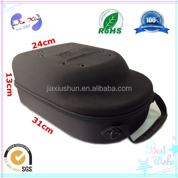Fashion style EVA protective baseball hat carrier case, cap case for storage and traveling