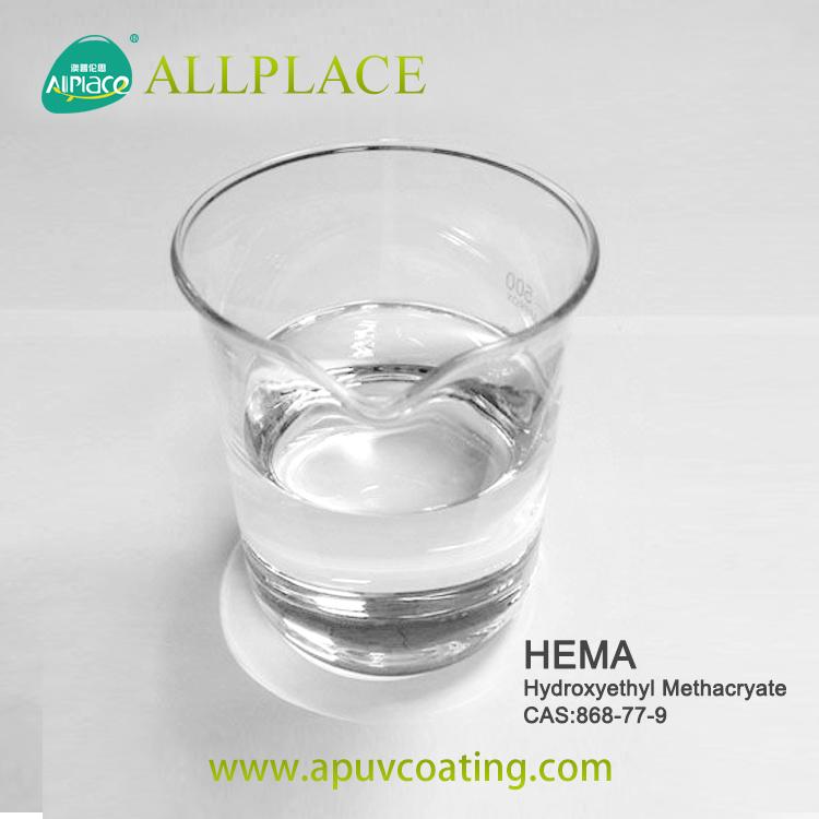 Factory supply  HEMA 2-Hydroxyethyl methacrylate 868-77-9