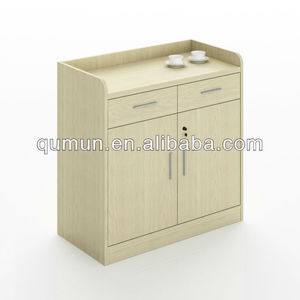 China factory furniture modern fashionable melamine office coffee tea cabinet