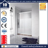 Residential / Commercial Project frameless glass shower doors cost for importer wholesaler