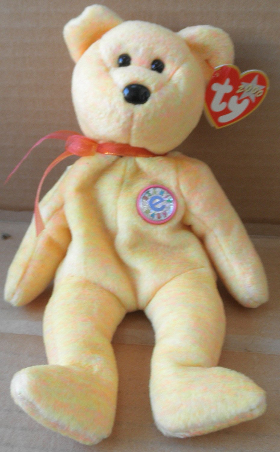 79d719ecef8 Get Quotations · 1 X TY Beanie Babies Sunny the Teddy Bear Plush Toy Stuffed  Animal with Beaded Necklace