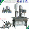 Semiautomatic under cap filling machine for Freon