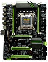 X79 Turbo motherboard for gaming, desktop mainboard with 4 DDR3 memory slots, 3 PCIEX16, 6 SATA, USB3.0