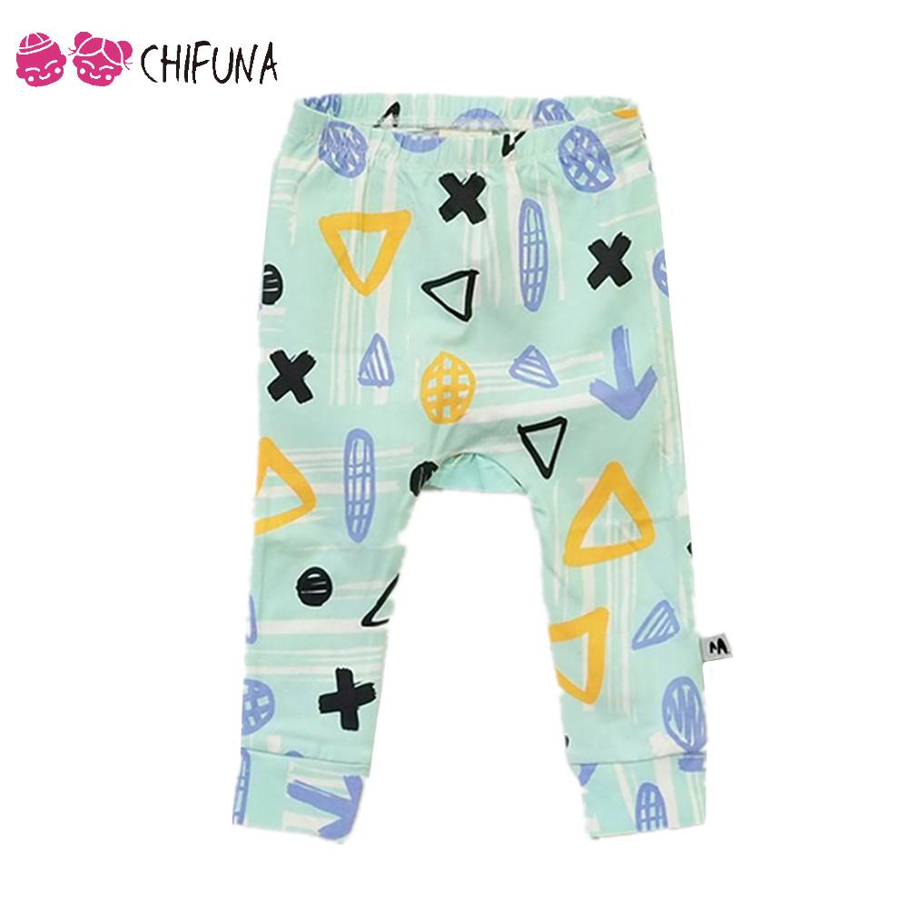 Hot Sale Baby Boys Girls Harem Pants Soft Print Children Pants Infant Trousers Kids Boys Girls