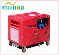super silent for sale cheap price 5kw diesel generator