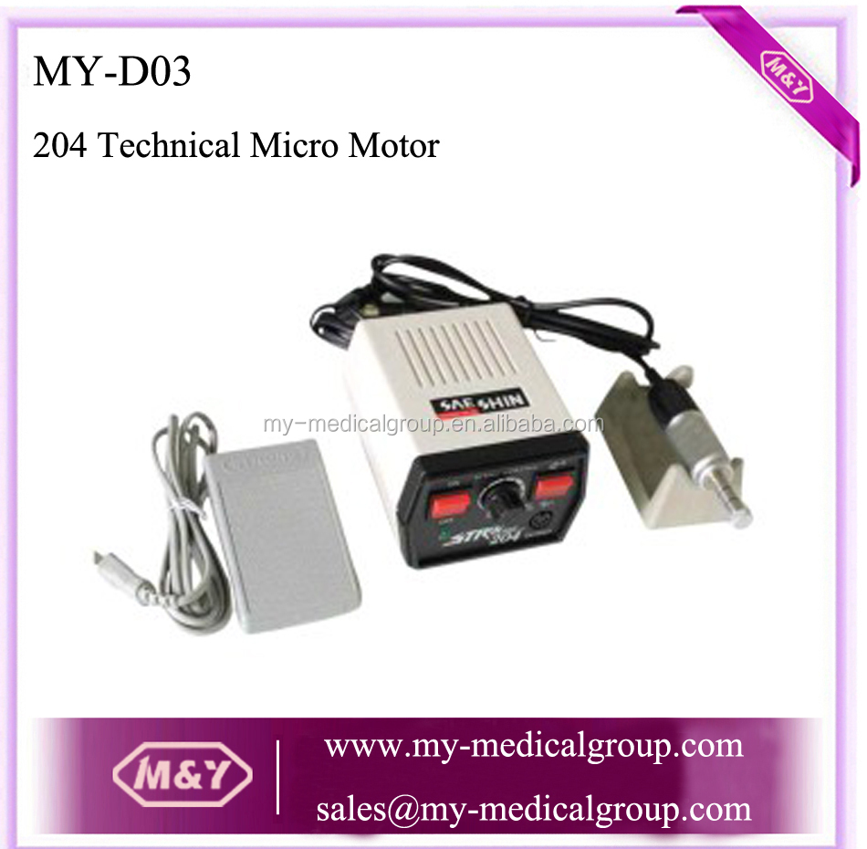 204 Dental Electric Micro Motor dental handpiece micromotor strong