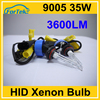 best quality 3600LM 35W car hid xenon bulb 9005 HB4