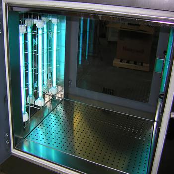 Static Hospital Mechanical Interlock Pass Box With Hepa