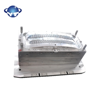 plastic injection car parts mould with hasco standard mould base