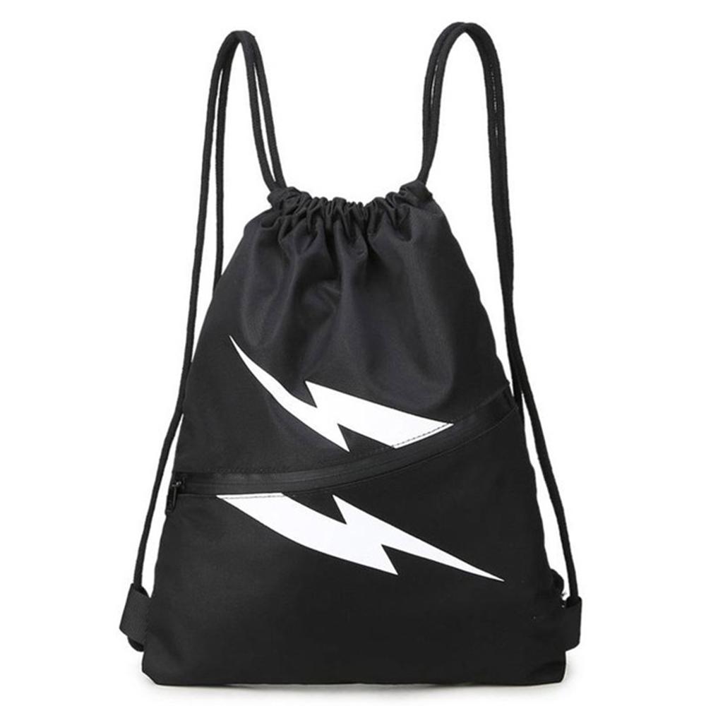 cheap custom gym bag 190T polyester drawstring bags