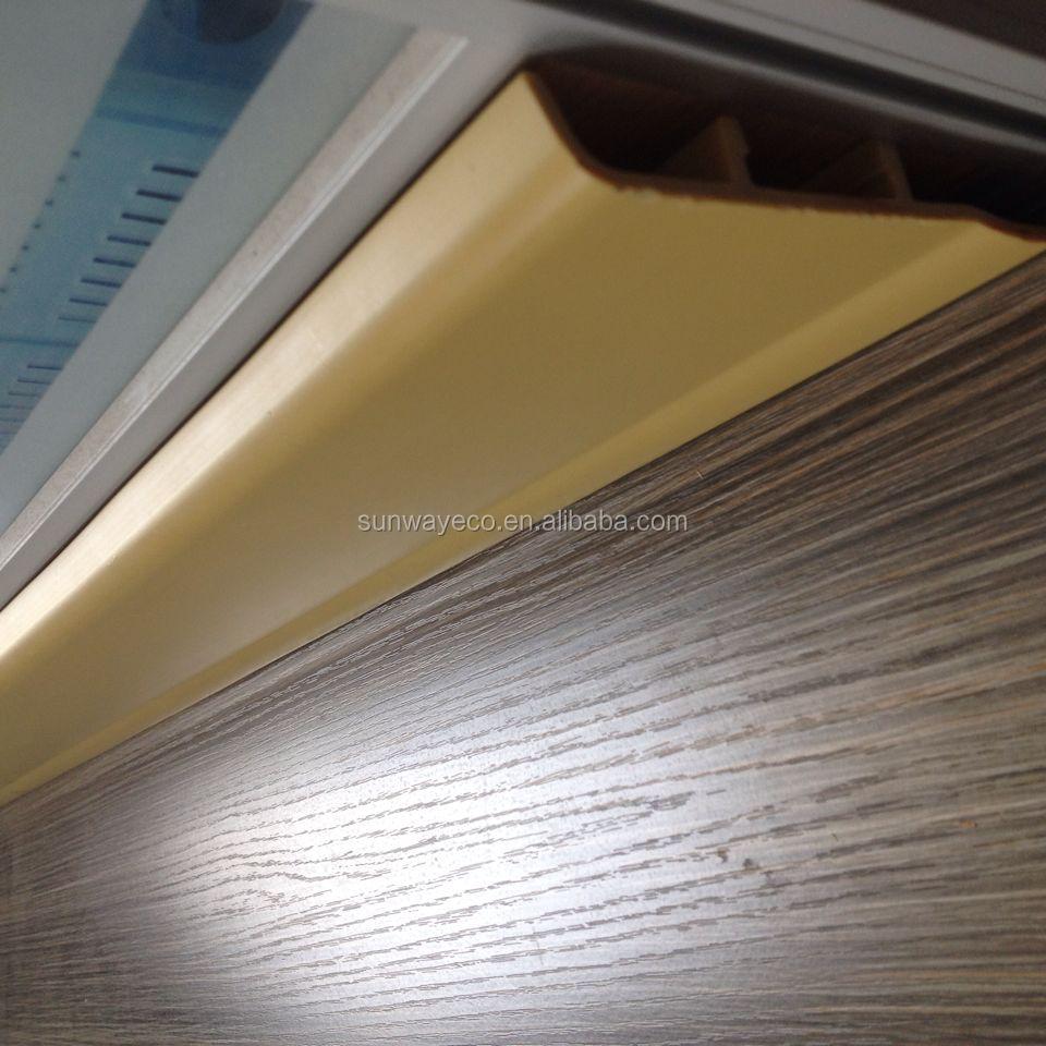 10cm hoogte wpc pvc plint wpc plint wand basis vloeren accessoires