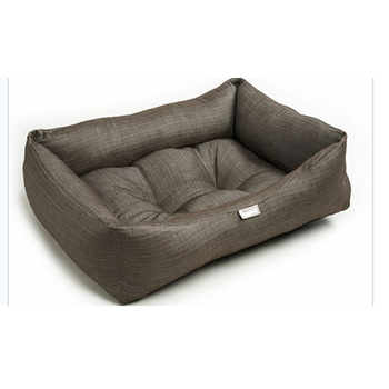 Large Brown Soft Designer Puppy Dog Beds