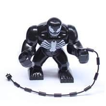 1pc Venom Mini Figure movie Super Hero Kid Baby Toy Building Blocks Sets Model Toys Minifigures
