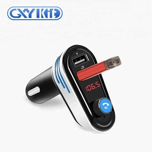 GXYKIT AP02 OEM Wireless In-Car FM Transmitter Radio Adapter car kit with aux input