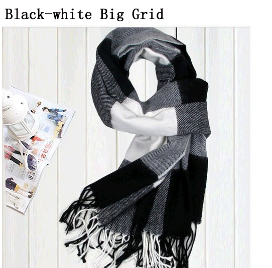 2015 New Arrival Winter Men s Scarves Hot Sale Thicked warm Man s cashmere scarf England