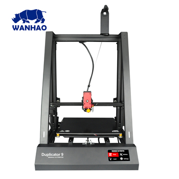 2018 Newest Wanhao FDM 3D Printer Duplicator 9 / 300 3DPrinter With Auto Leveling  resume printing and bigger printing size
