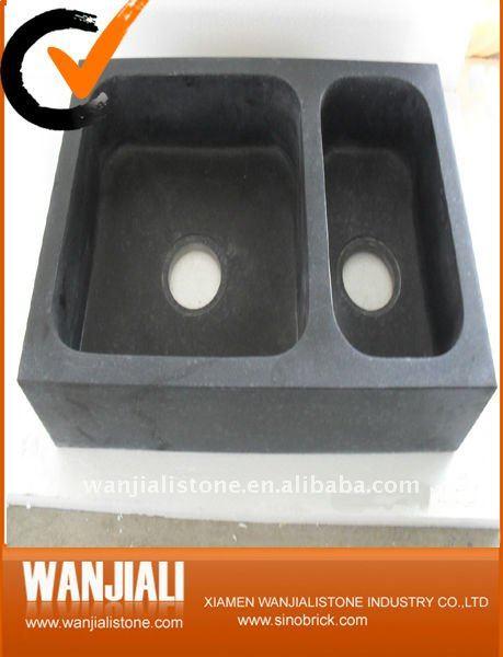stein aus schwarzem granit sp le bad eitelkeiten produkt id 501617601. Black Bedroom Furniture Sets. Home Design Ideas