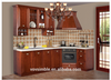 modular kitchen cabinets solid wood modern cheap kitchen cabinet with sink Customizable welcome
