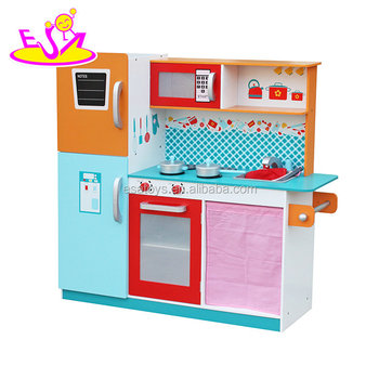 New Design Big Wooden Kitchen Set For Kids W10c205 View Kitchen Set
