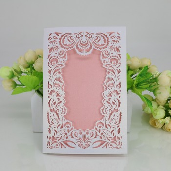 Customized Laser Cut Wedding Invitation Philippines Wedding Invitation Pocket Pearl Embellishments For Wedding Invitation Buy Wedding Invitation