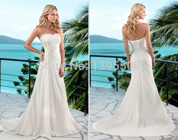 Popular Casual Summer Wedding Dresses