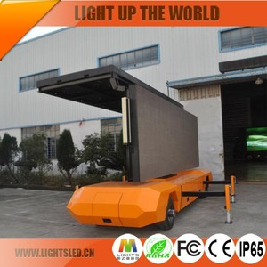 P8 Truck Mobile Advertising Led Display LED Screen Trailer New Products On China Market
