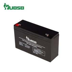 6V 12AH AGM sealed lead acid battery small battery operated led light