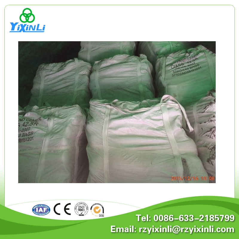 Bulk portland cement prices in China