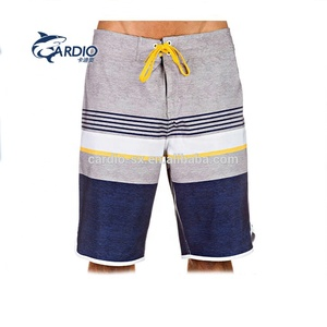 100% recycled polyester surf board shorts men short pants beach custom printed swimming trunks