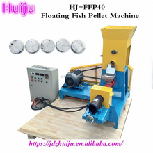 factory directly big sales floating fish feed extruder/floating fish feed pellet machine price with CE
