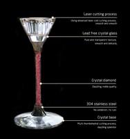 Crystal Candlesticks for wedding / candelabra votive wine bottle tealight candle holder